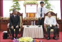Provincial leader met with Vietnam – Japan Gas